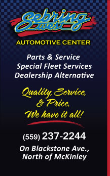 Sebring West Automotive Center Coupon for Service
